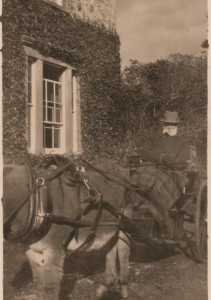 Cecil Edward c 1910 in trap