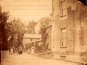 brighter Terrace & west elev c1883