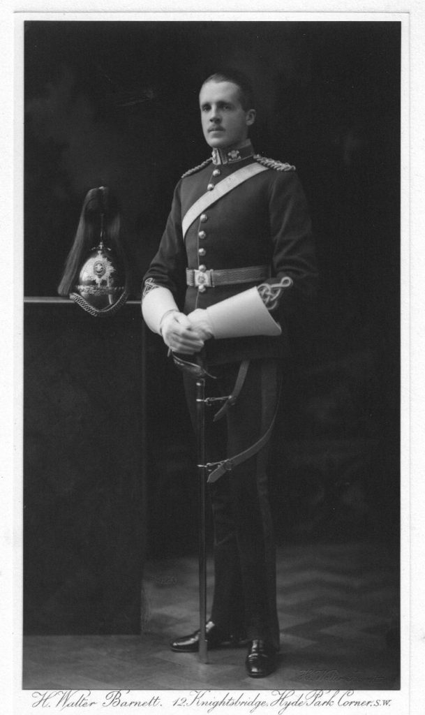 sm Capt Choppy Leslie 3rd dragoon guards